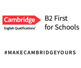 Αποτελέσματα Εξετάσεων Cambridge B2 First for Schools Δεκεμβρίου 2019